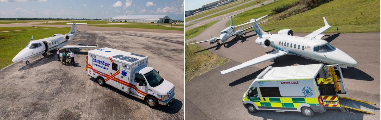 самолеты медицинской авиации