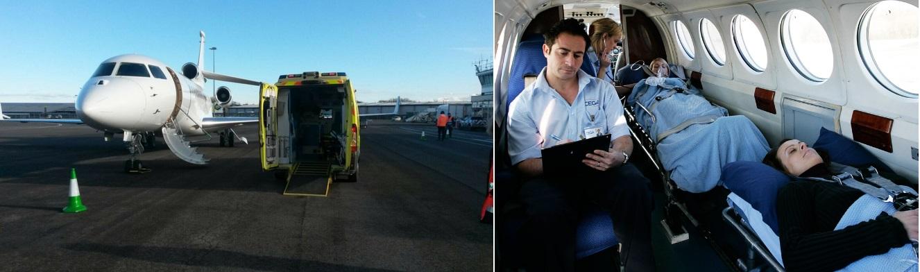 перевозка лежачего больного на медицинском самолете