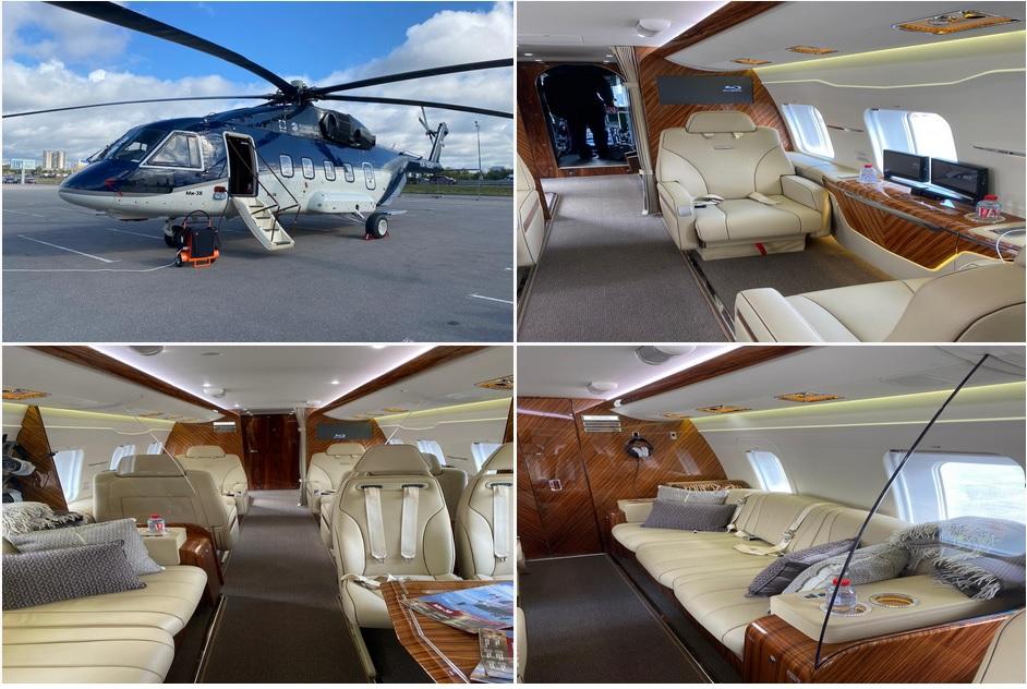фото вертолета бизнес класса
